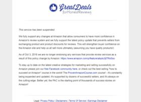 greatdealsforhonestreviews.com