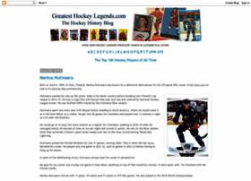 greatesthockeylegends.com