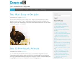 greatestten.com