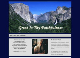 greatisthy-faithfulness.com