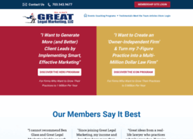 greatlegalmarketing.com