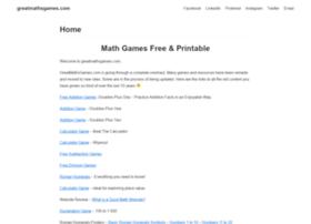 greatmathsgames.com
