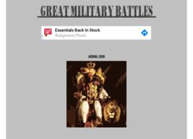 greatmilitarybattles.com