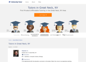 greatneck.universitytutor.com