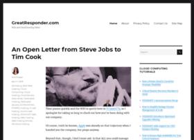 greatresponder.com