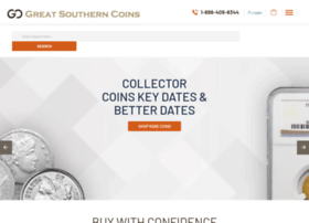 greatsoutherncoins.com