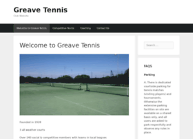 greavetennis.co.uk