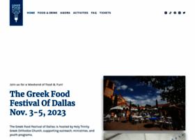 greekfestivalofdallas.com