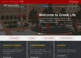greeklife.usc.edu