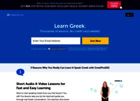 Greekpod101.com
