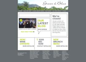greenandbluewines.com