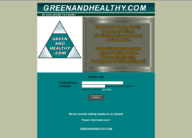 greenandhealthy.com