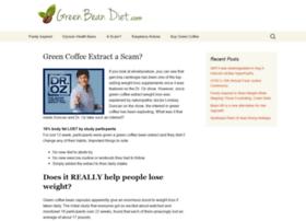 Greenbeandiet.com