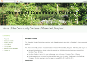 greenbeltcommunitygardenclub.org