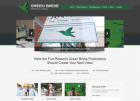 greenbirdieproductions.com