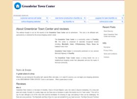 greenbriartowncenter.com