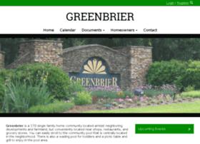greenbrier-hoa.com