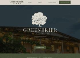 greenbrierfarms.com