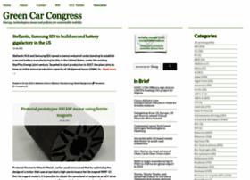 greencarcongress.com