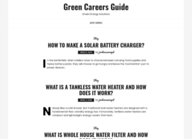 greencareersguide.com