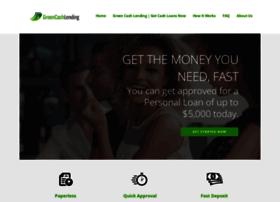 greencashlending.com