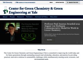 greenchemistry.yale.edu