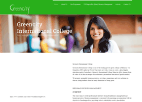 greencity.edu.my