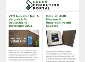 greencomputingportal.de
