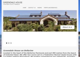 greendalehouseonbellarine.com