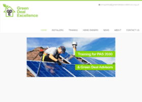 greendealexcellence.org.uk