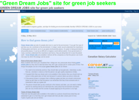 greendreamjob.blogspot.com