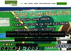 Greenenergysprayfoaminsulation.com