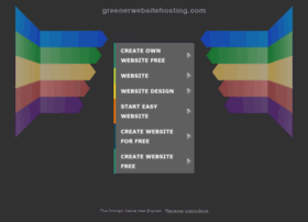 greenerwebsitehosting.com