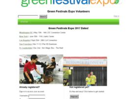 greenfestivals.volunteerhub.com