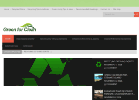 greenforclean.co.uk