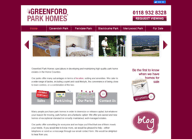 greenfordparkhomes.co.uk