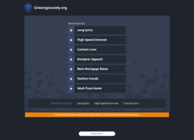 greenigsociety.org