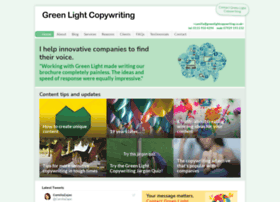 Greenlightcopywriting.co.uk
