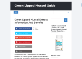greenlippedmusselguide.com