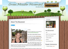 greenmonstermovement.com