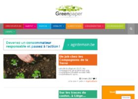 greenpaper.be