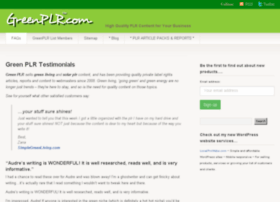 greenplr.com
