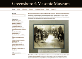 greensboromasonicmuseum.org