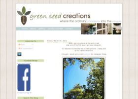 greenseedcreations.blogspot.com