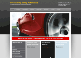 greenspringvalleyautomotive.com