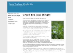 greentealoseweightsite.com