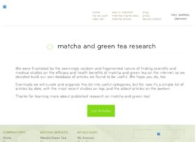greentearesearch.breakawaymatcha.com
