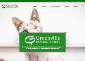 greenvillehumane.com