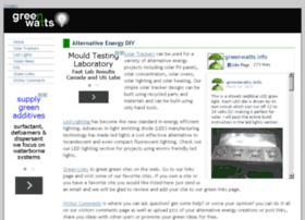greenwatts.info