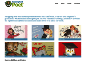 greetingcardpoet.com